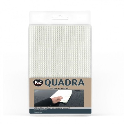 Laveta microfibra QUADRA  60x90cm K2