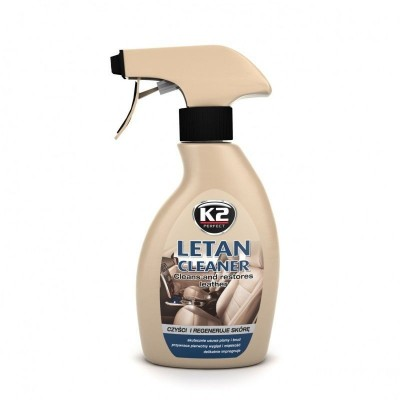Solutie curatat tapiterie piele auto LETAN K2 250ml