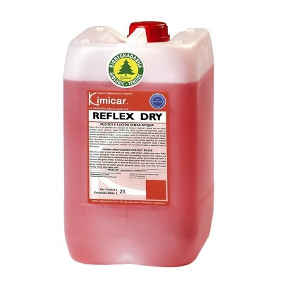 Solutie spalare fara apa polish auto lichid REFLEX DRY Kimicar 5Kg
