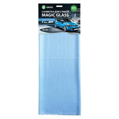 Laveta microfibra pentru geamuri Magic Glass 40x50cm Grass
