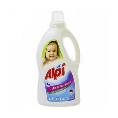 Detergent gel concentrat pentru rufe bebelusi ALPI 1.5L