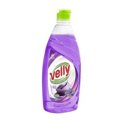 Detergent de vase Velly Velvet, Grass, Violet, 500ml