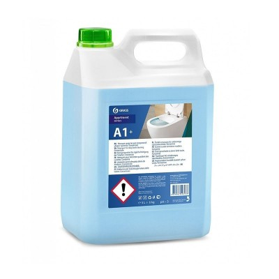 Detergent curatare toalete A1+, Grass, Concentrat, 5L