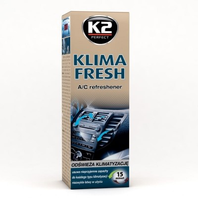 Spray curatat si dezinfectat aer conditionat KLIMA FRESH K2 150ml