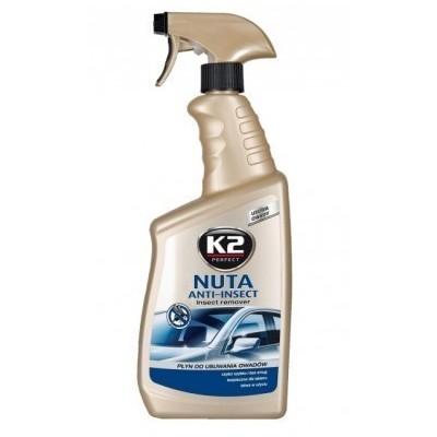 Solutie curatat insecte cu pulverizator NUTA INSECT K2 700ml