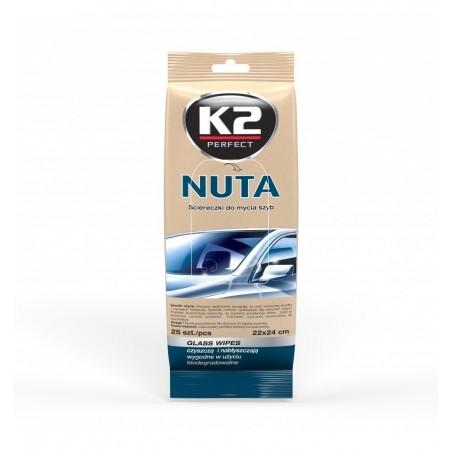 Servetele umede pentru geamuri set NUTA K2 25buc