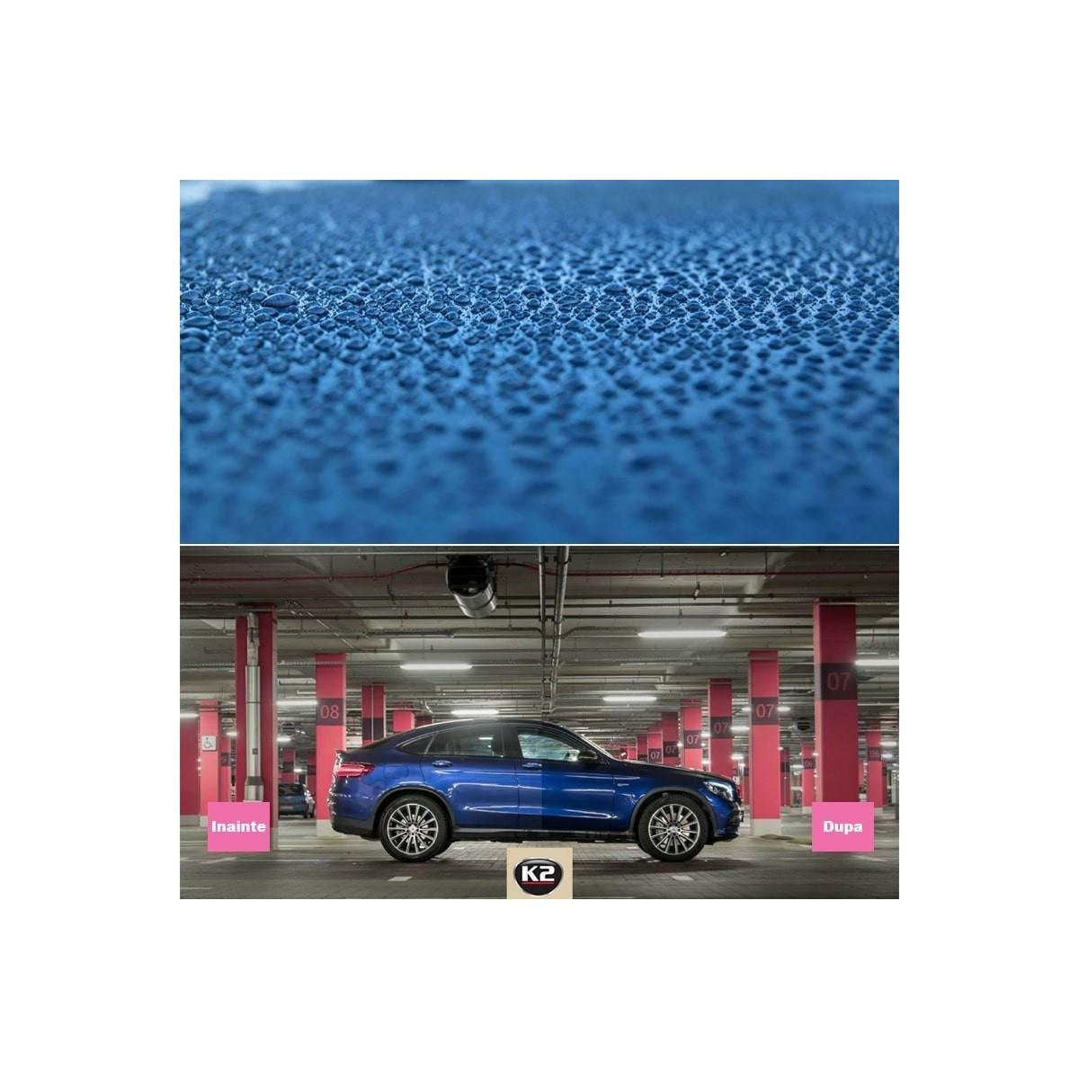 Solutie curatat tapiterie piele auto LETAN K2 200ml