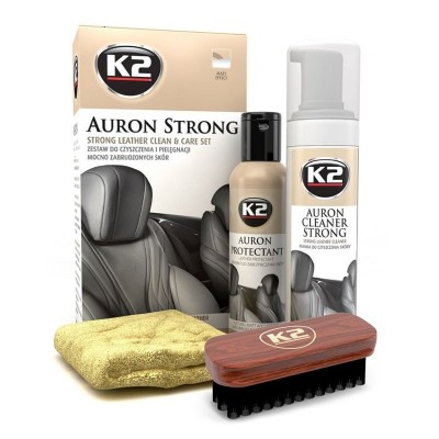 Kit curatare tapiterie piele Auron Strong K2