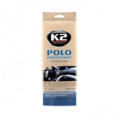 Servetele umede pt bord POLO PROTECTANT K2 10ml