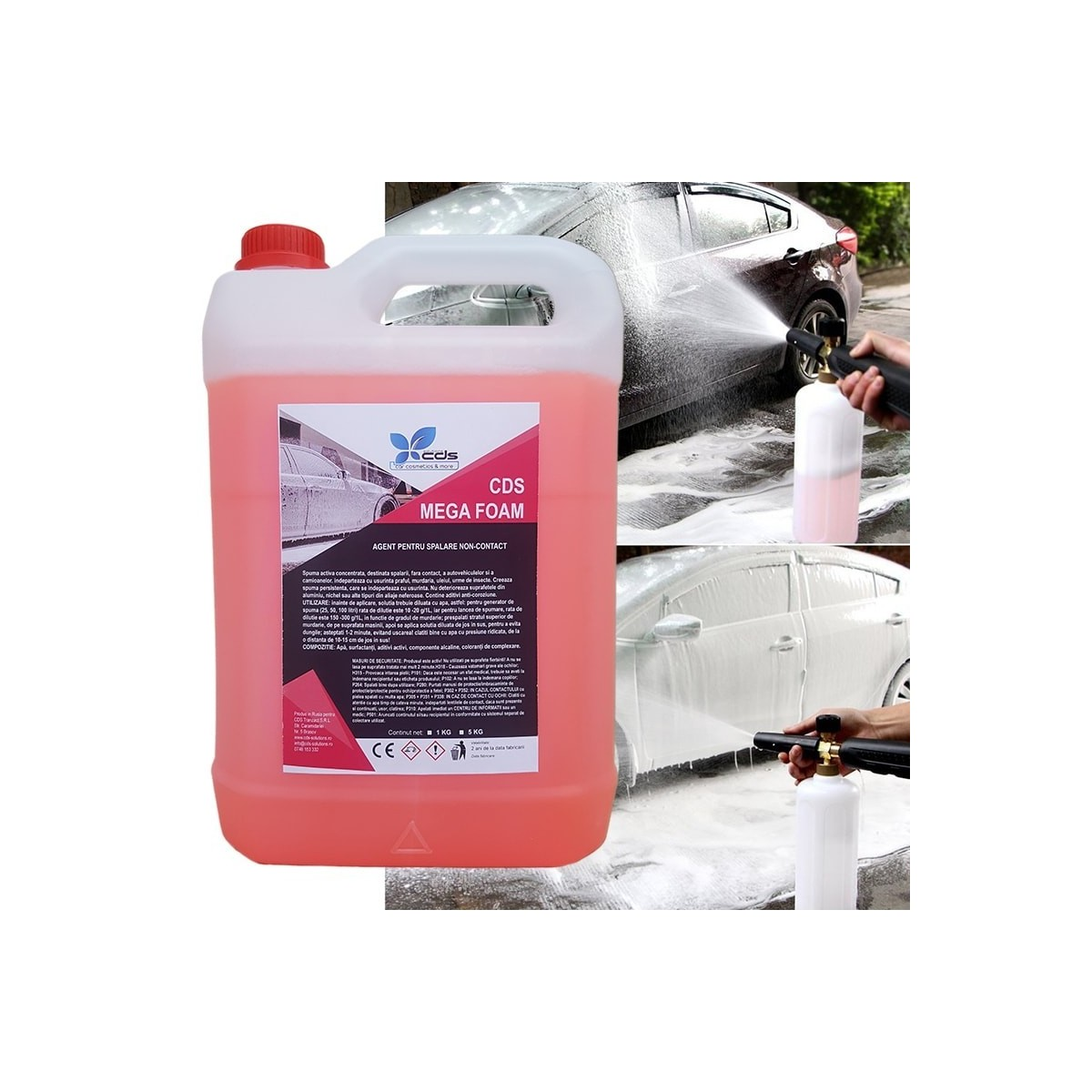 Spray vopsea cauciucata K2 COLOR FLEX 400ml negru mat