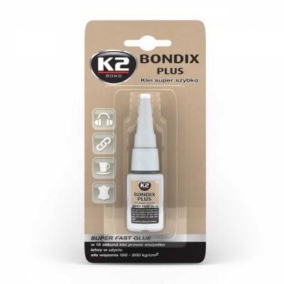 Adeziv universal cyanoacrilat 15sec BONDIX PLUS K2 1g
