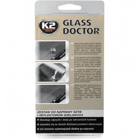 Kit reparatii parbrize geamuri faruri GLASS DOCTOR K2 80g