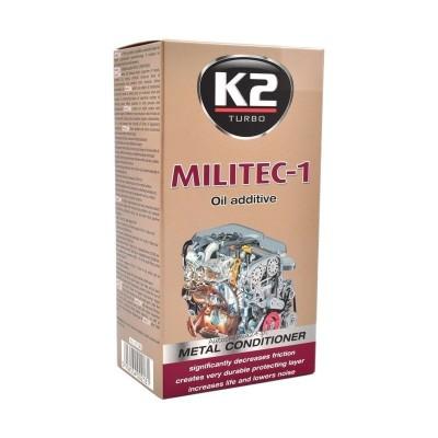 Aditiv tratament pentru ulei sintetic MILITEC-1 250ml K2