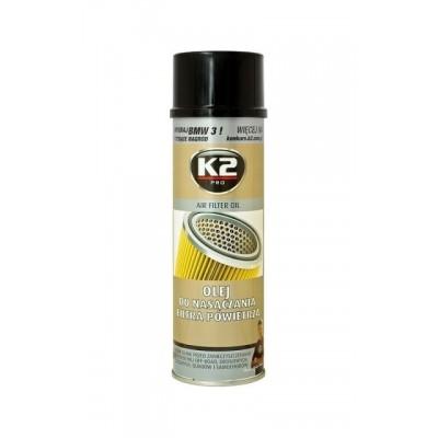 Spray pt intretinerea filtrului de aer AIR FILTER OIL 500ml K2