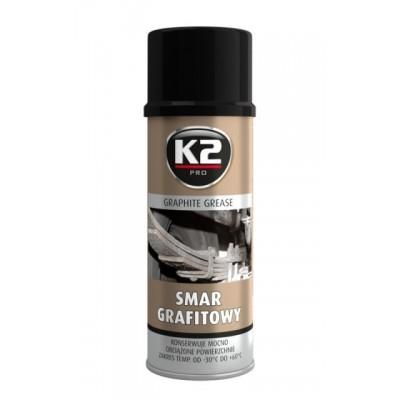 Spray vaselina grafitata GRAPHITE GREASE 400 ml K2
