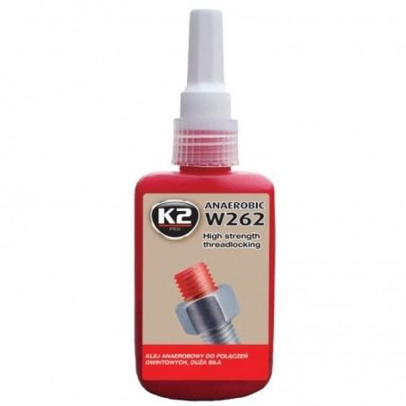 Solutie blocat suruburi  mediu-puternic W262 50ml K2