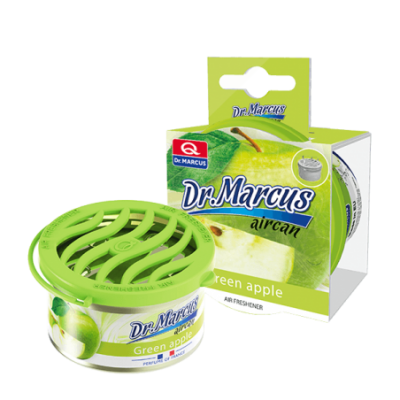 Odorizant auto gel aromat AIRCAN Green Apple Dr. Marcus 40g