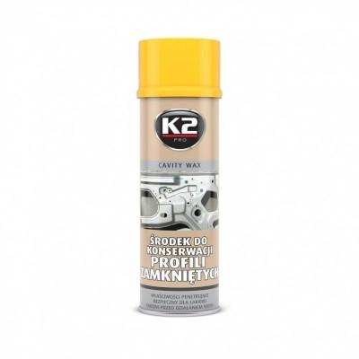 Ceara conservare caroserii spray CAVITY WAX K2 500ml