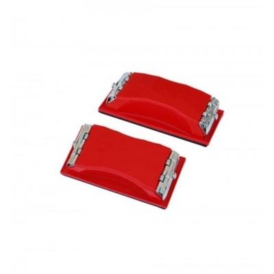 K2 - Suport plastic cu talpa din cauciuc pt slefuire  16.5x8.5cm