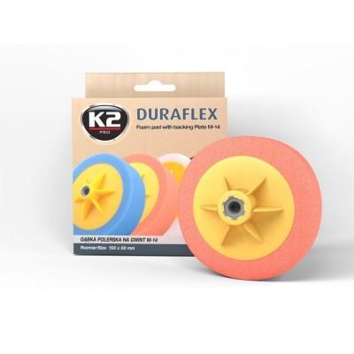 Burete polish orange DURAFLEX FOAM ORANGE K2