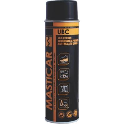 Spray protectie sasiu pe baza de bitum Masticar UBC 500 ml