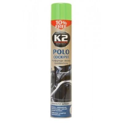 Spray silicon lucios bord COCKPIT MAX K2 750ml