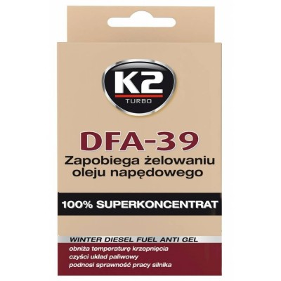 Anticongelant diesel concentrat TURBO DFA-39 50ml K2