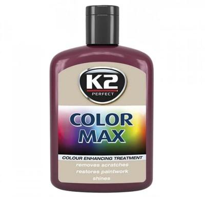 Ceara auto colorata Rosu inchis - COLOR MAX 200ml K2