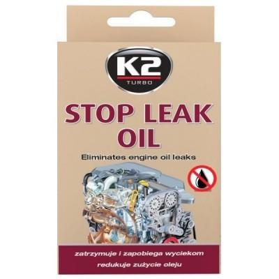 Aditiv pentru stoparea scurgerilor de ulei STOP LEAK OIL 50ml K2