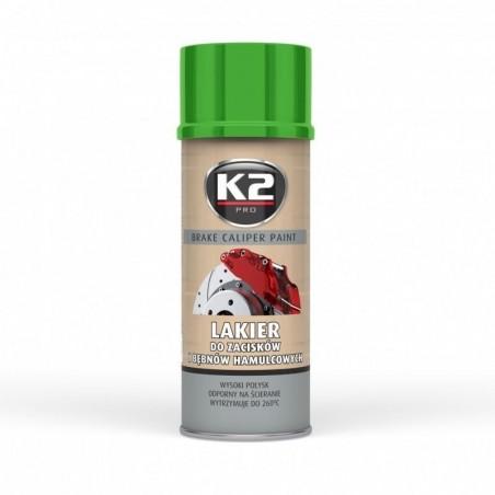 Spray vopsea etriere verde - Caliper Paint 400ml