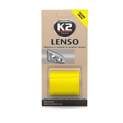 Banda reparat lampi auto orange LENSO K2
