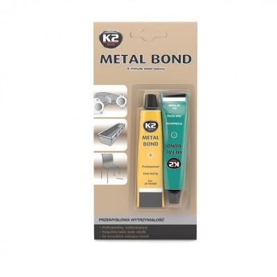 Adeziv bicomponent special pentru metal METAL BOND  57g K2
