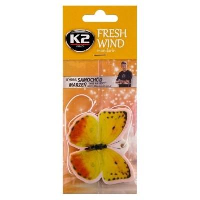 Odorizant auto FRESH WIND Mandarina K2 1 buc